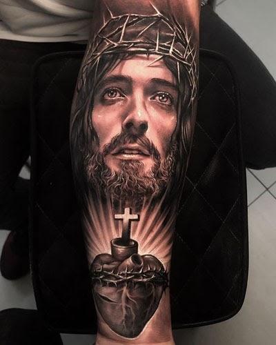 ลายสักพระเยซู สวยๆ